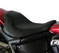 Potato Chip Driver Seat on Yamaha Raider