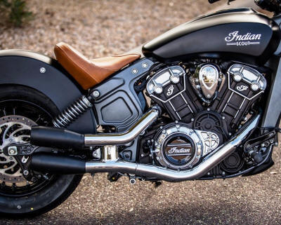 Indian Scout | Bobber | Scout Sixty Exhaust Systems by ...