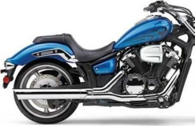 Yamaha Stryker Scalloped Cobra Slip-On Black 2270