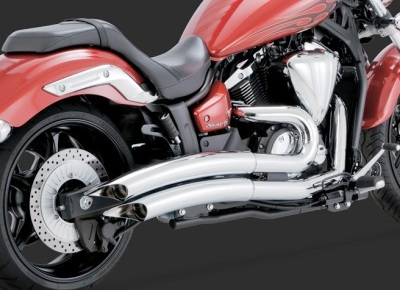 Yamaha Stryker Vance & Hines Exhaust Systems - 1(509)466-3410